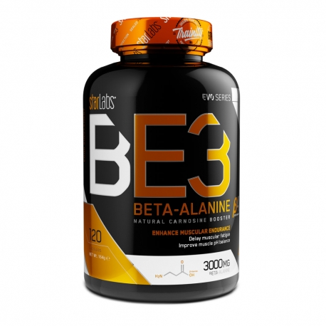 BE3 BETA-ALANINE_120 cap (40 Serv)
